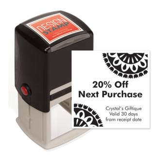 Fiesta Medallions Design Stamp - Self-Inking