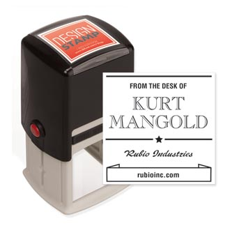 The High & Mighty Design Stamp - Self-Inking