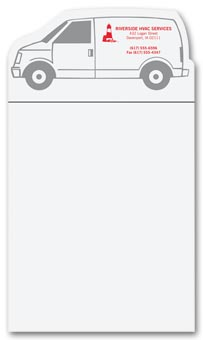 BIC Van Notepad Magnets