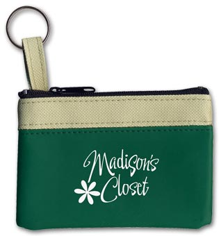 Keyring Zippered Classic Pouch