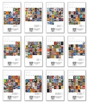 2015 Numbers In Pictures Wall Calendar