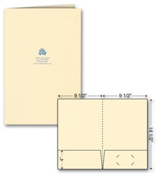 Legal Presentation Folder - Ink Imprint