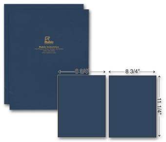 Two Part Report Cover - Foil Imprint
