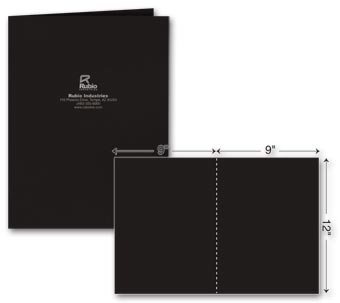 One Part Report Cover - Foil Imprint