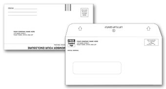 Combination, Mailer and Return Envelope