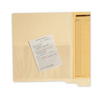 Transparent Top Load File Pockets