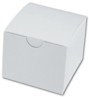 Model Boxes, Single, White
