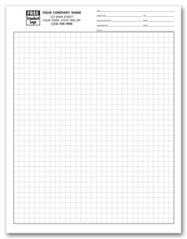 Graph Papers, Standard 1/4 , Sheets