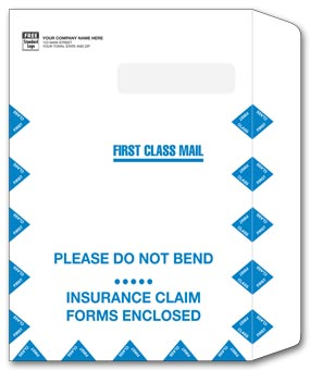 Large Claim Form Mailing Envelope