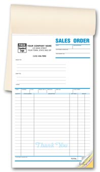 Classic Booked Sales Orders 2-part