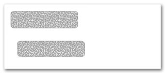 Double Window Envelope 8 5/8 x 3 5/8