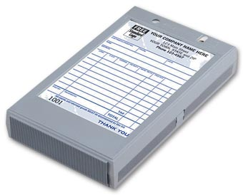 Portable Register - Plastic Register for 4 x 6 Forms
