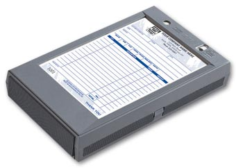 Portable Register - Plastic Register for 5 1/2 x 8 1/2 Forms