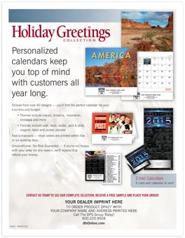 Holiday Calendars Sell Sheet