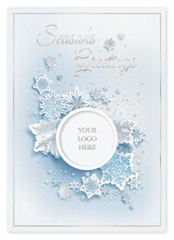 Swirling Snow Holiday Cards