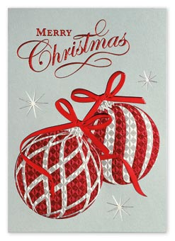 Sparkling Wishes Christmas Cards