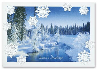 Iced Inspiration Holiday Card
