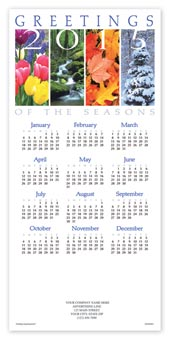 Perennial Greetings Calendar Cards