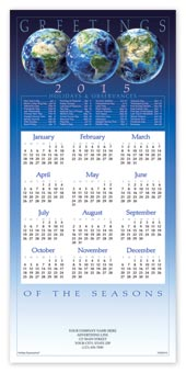 Blue Earth Calendar Cards