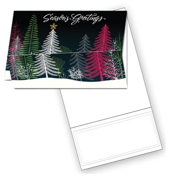 Enchanted Forest Holiday Coupon Card