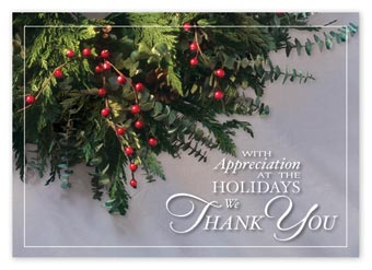 Ever Thankful Holiday Cards