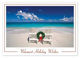 Beachy Holiday Budget Cards