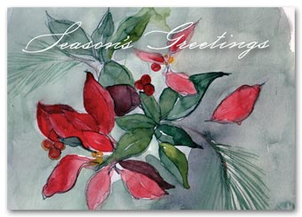 Seasonal Flora Holiday Cards