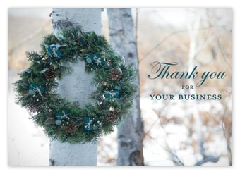 Holiday Thank You Budget Cards