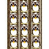 Die-Cut Magnetic Owls, 12 Pieces