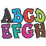 MODERN HIP ASST CHALK COLORS 2.75IN  DESIGNER MAGNETIC LETTERS