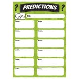 PREDICTIONS LARGE MAGNETIC CHART