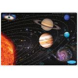"Smart Poly Learning Mats, 12"" x 17"", Double-Sided, Solar System, Pack of 10"