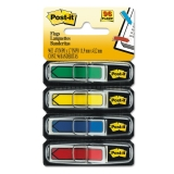 Neon Primary Color Printed Arrow Flags with Dispenser, 25 ct., 4/Pack