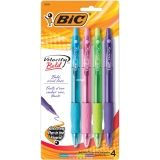 Velocity Bold Ball Pens, 4-count assorted