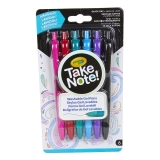 Take Note! Washable Gel Pens, Pack of 6