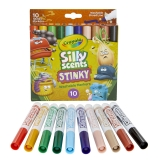 Silly Scents Stinky, Washable, Broad Line Markers, Pack of 10