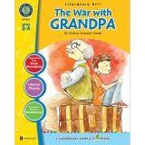 THE WAR WITH GRANDPA ROBERT KIMMEL  SMITH LIT KIT GR 3-4
