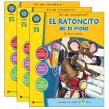 El Ratoncito de la Moto - Literature Kit, Spanish Version, Grades 3-4, Pack of 3