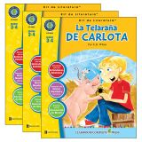 La Telarana de Carlota - Literature Kit, Spanish Version, Grades 3-4, Pack of 3