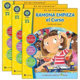 Ramona Empieza el Curso - Literature Kit, Spanish Version, Grades 3-4, Pack of 3