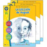 La Leccion de August - Literature Kit, Spanish Version, Grades 5-6, Pack of 3