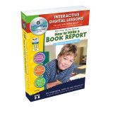 HOW TO WRITE A BOOK REPORT  INTERACTIVE WHITEBOARD LESSONS