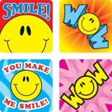 STICKERS SMILE FUN 120/PK ACID &  LIGNIN FREE