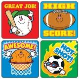 STICKERS SPORTS 120/PK ACID &  LIGNIN FREE