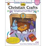 EASY CHRISTIAN CRAFTS GR PK-K  RESOURCE BOOK