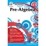 Skill Builders Pre-Algebra Workbook, Grade 4-5, Pack of 6