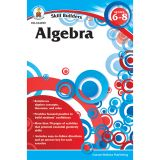 Skill Builders Algebra Workbook, Grade 6-8, Pack of 6