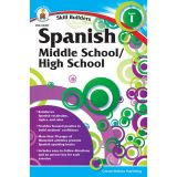 Skill Builders Spanish I Workbook, Grade 6-8, Pack of 6