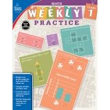 WEEKLY PRACTIVE MATH GR 1