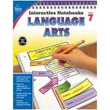 INTERACTIVE NOTEBOOKS LANGUAGE ARTS  GR 7